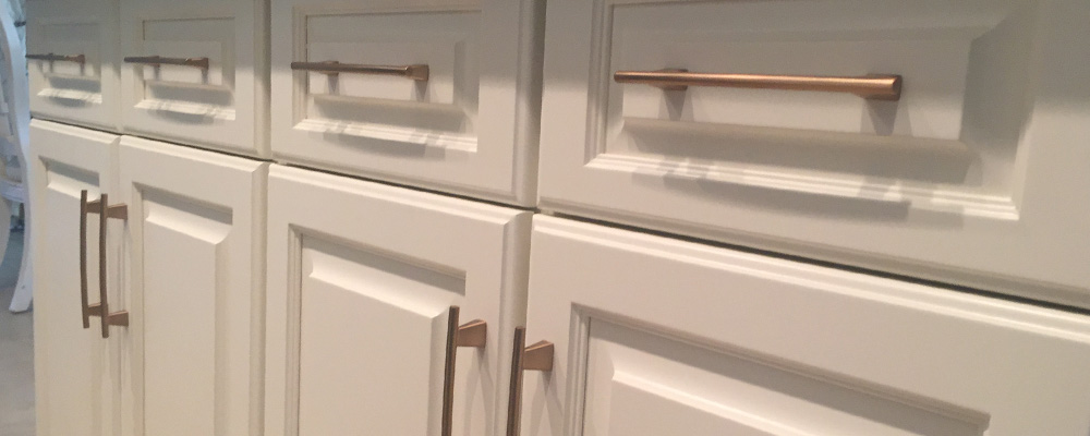 Rose gold kitchen cabinet hardware